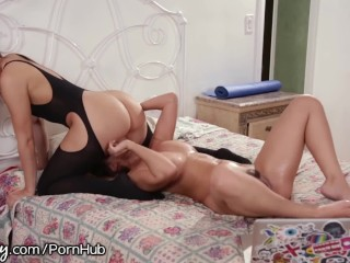 Mature wife fucking a young man