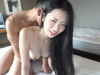 Big ass and tits riding dick
