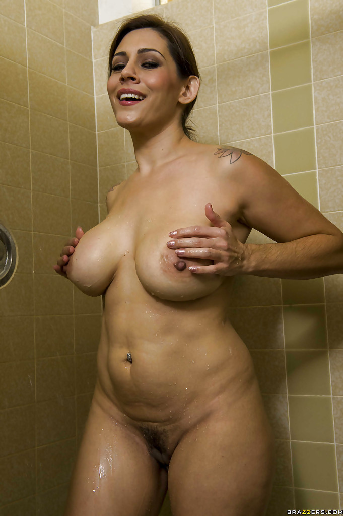 Shower time with amateur women in bikinis and nude