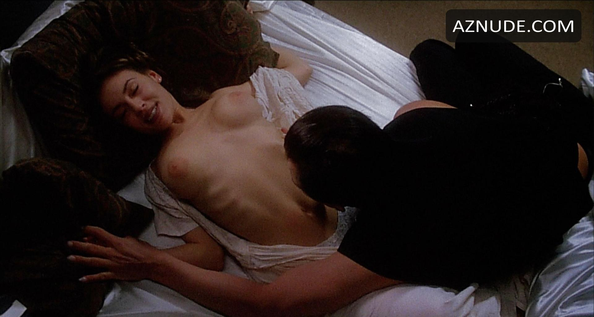 Alyssa milano and charlotte lewis nude lesbo sex scene in embrace of the vampire picture